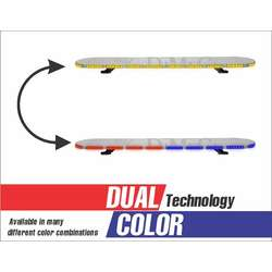 "48"" Dual Color Enforcer Light Bar"